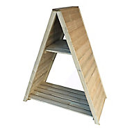 Shire Pressure treated Wooden Triangular log store