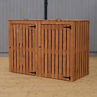 Shire Shire Wooden Bin storage - Assembly required