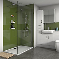 Splashwall Forest Gloss 3 sided shower wall kit