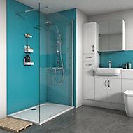 Splashwall Ocean Matt 2 sided shower wall kit