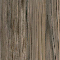 50mm Cypress Cinnamon Wood effect Laminate Square edge Kitchen Worktop, (L)3000mm