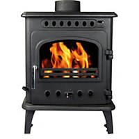 Hothouse Breeze Black 8kW Solid fuel Stove