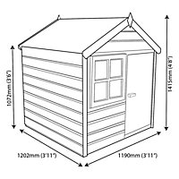 4x4 Woodbury Playhouse With assembly service