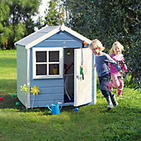 Shire 4x4 Woodbury Wooden Playhouse - Assembly service included