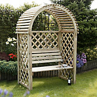 Blooma Chiltern Round Wood Arbour
