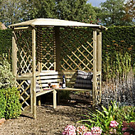 Blooma Chiltern Softwood Corner arbour