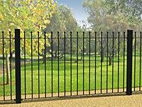Ball top Black Fence, (L)1810mm