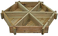 Blooma Timber Raised bed kit