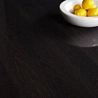 Colours Nobile Natural Wenge wood effect Laminate flooring, 2.24m² Pack