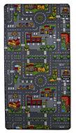 Colours Danis Multicolour City road Playmat (L)1.9m (W)1 m
