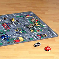Colours Danis City road Multicolour Playmat (L)1.9m (W)1m