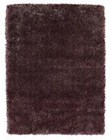 Colours Harpur Dark pink Rug (L)1.6m (W)1.2m