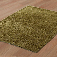 Colours Harpur Dark green Rug (L)2.3m (W)1.6m