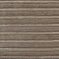 Colours Jasola Striped Grey & taupe Rug (L)1.6m (W)1.2m