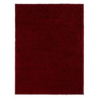 Colours Kala Red Rug (L)1.6m (W)1.2m