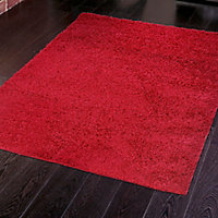 Colours Kala Red Rug (L)1.6m (W)1.2m