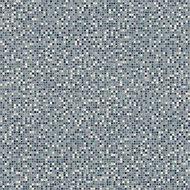 Colours Flutina Blue Mosaic effect Vinyl flooring, 6m²