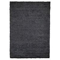 Colours Okhla Grey Rug (L)2.3m (W)1.6m