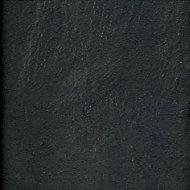 Colours Harmonia Black Slate effect Laminate flooring, Sample