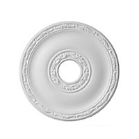 Colours Nayak Traditional Polyurethane Ceiling rose, (Dia)405mm