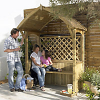 Blooma Barmouth Apex Softwood Arbour
