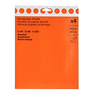 Aluminium oxide Hand sanding sheets, Pack of