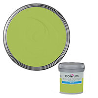 Colours Standard Green apple Matt Emulsion paint 0.05L Tester pot