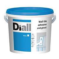 Diall Ready to use Wall tile adhesive & grout, White 6.6kg