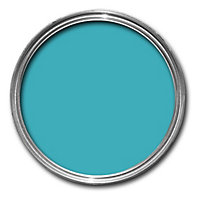 Colours Premium Tropez blue Matt Emulsion paint 0.05L Tester pot