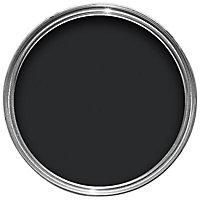 Colours Black Satin Metal & wood paint, 0.75L