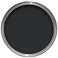 Colours Black Satin Metal & wood paint, 2.5