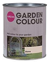Colours Garden Stone Matt Wood stain, 0.75L