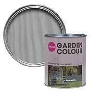 Colours Garden Anthracite Matt Wood stain, 0.75L