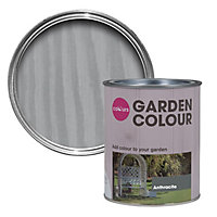 Colours Garden Anthracite Matt Wood stain, 0.75L