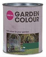 Colours Garden Fir Matt Woodstain 0.75L