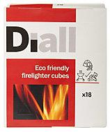 Diall Firelighter cube 0.44kg Pack