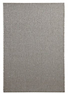Colours Fearne Grey Indoor & outdoor rug (L)1.7m (W)1.2 m