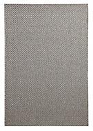 Colours Fearne Basket weave Grey Rug (L)2.3m (W)1.6m