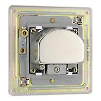 Colours Nickel effect Coaxial & satellite socket
