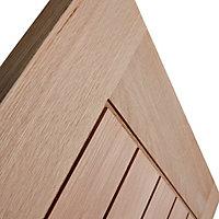 Cottage Oak veneer LH & RH Internal Fire Door, (H)1981mm (W)686mm