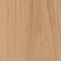 2 panel Arched Oak veneer LH & RH Internal Door, (H)1981mm (W)610mm