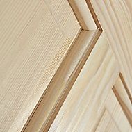 4 panel Clear pine LH & RH Internal Door, (H)2040mm (W)726mm