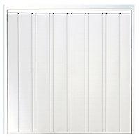 Utah Retractable Garage door, (H)1981mm (W)2286mm