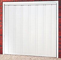 Utah Retractable Garage door, (H)2134mm (W)2286mm