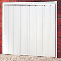 Utah Retractable Garage door, (H)2134mm (W)2438mm
