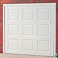 Jersey Georgian Retractable Garage door, (H)2134mm (W)2286mm