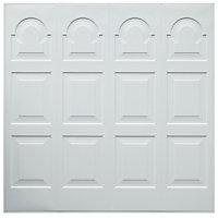Michigan Georgian Retractable Garage door, (H)2134mm (W)2286mm