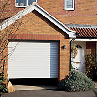 Insuglide Roller Garage door, (H)1981mm (W)2286mm
