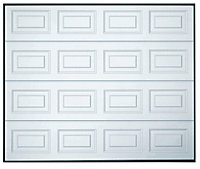 Georgian Sectional Garage door, (H)1981mm (W)4267mm