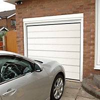 Frame not included Sectional Garage door, (H)1981mm (W)2438mm